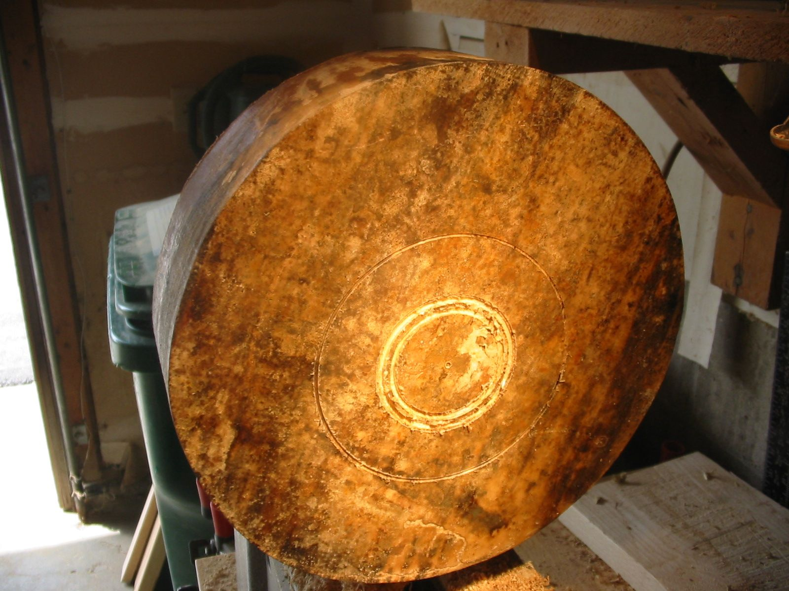 Selkie Wood Works: Rainbow Poplar Bowl-Discussion, plans, and photos