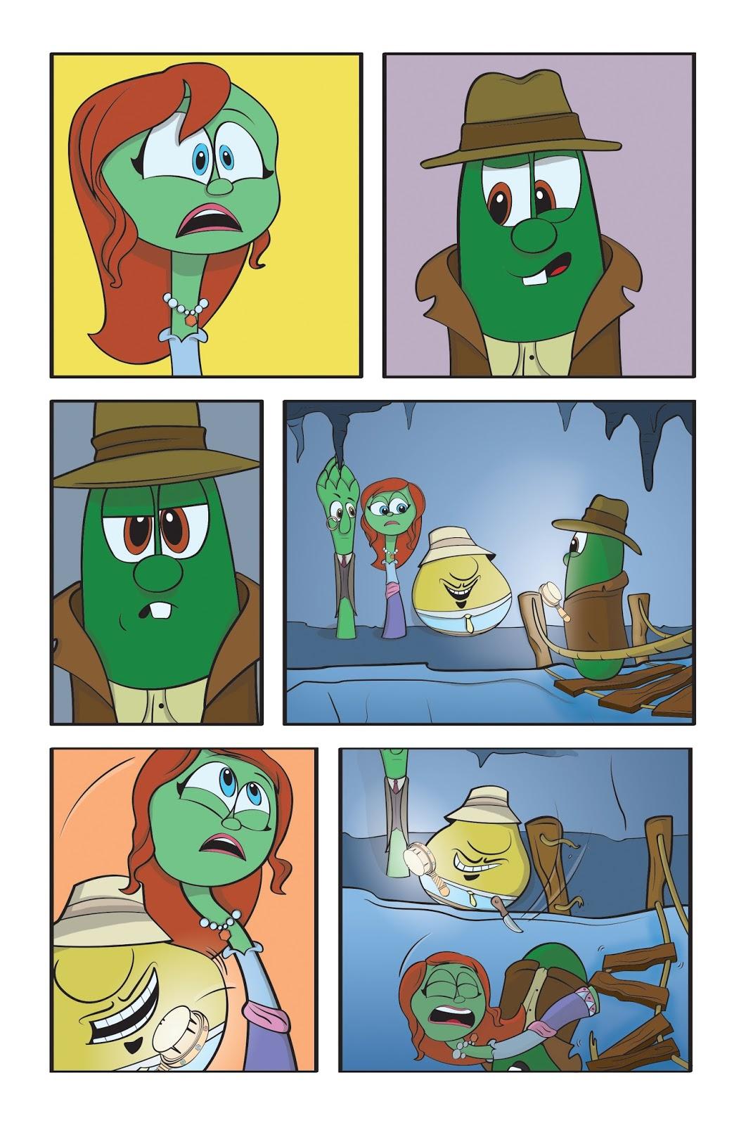 Philip A. Buck: Coloring VeggieTales Super Comics: Minnesota Cuke ... | 1600x1061