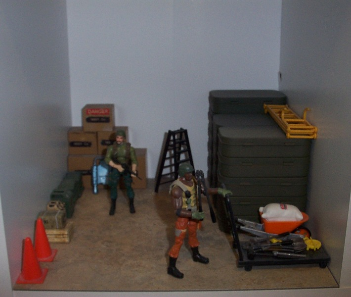 Our Basement Workshop: The Pit (G.I. Joe Headquarters