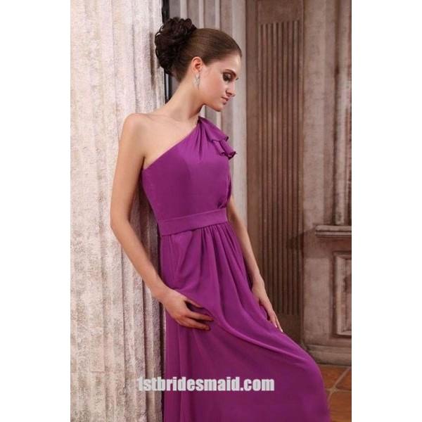 Dark Purple Bridesmaid Dresses nz
