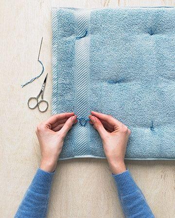 идеи за вдъхване на живот в старата хавлиена кърпа