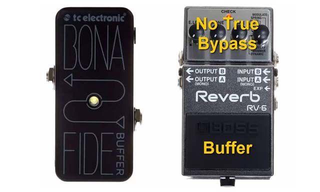 Pedal Buffer para Guitarra Eléctrica