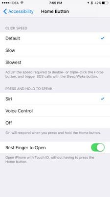 Sirinin home tuşuna bastığınızda aktif olmasını kapatabilirsiniz.