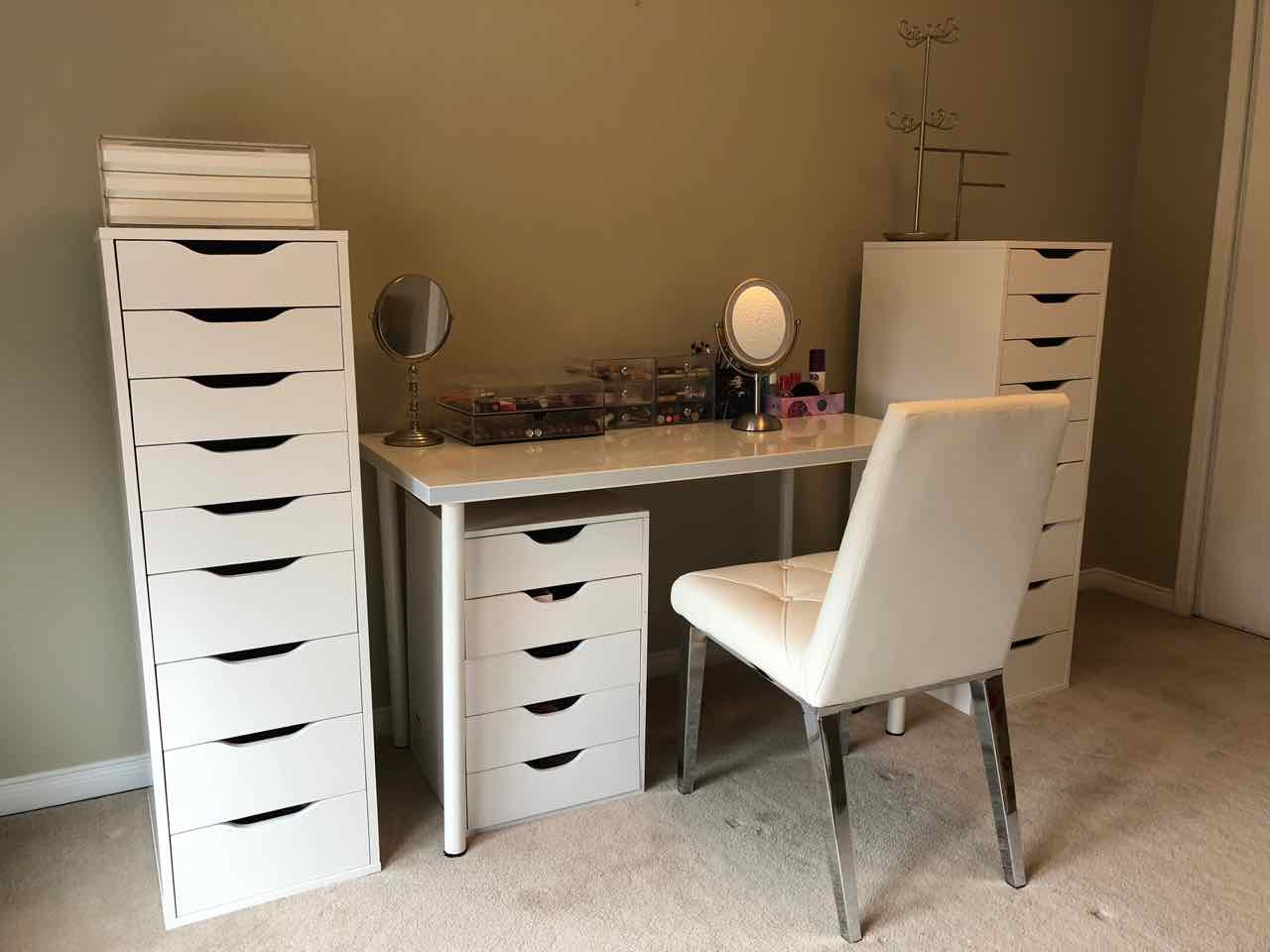 Shopping Obsession: Makeup Room Ikea Alex Drawers on Makeup Room  id=14686