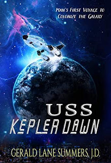 USS Kepler Dawn - science fiction by Gerald Lane Summers