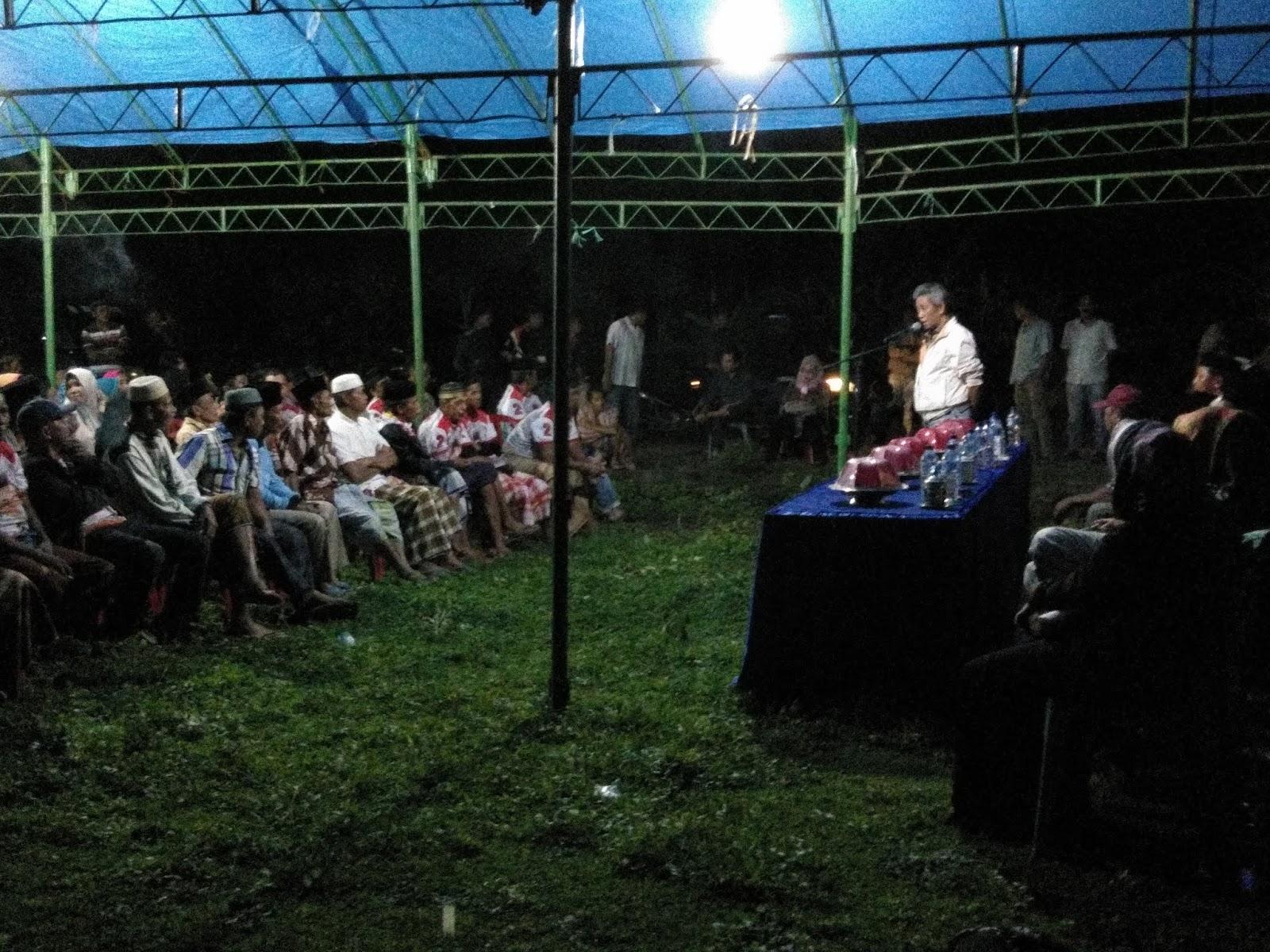 Acara Silaturahmi Andi Rudiyanto Asapa di Abbumpungeng Padat Pengunjung