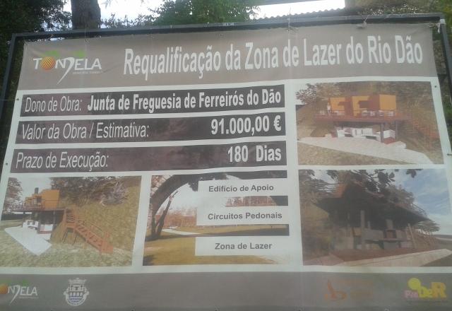 Projeto de requalificação de Zona de lazer do Rio Dão