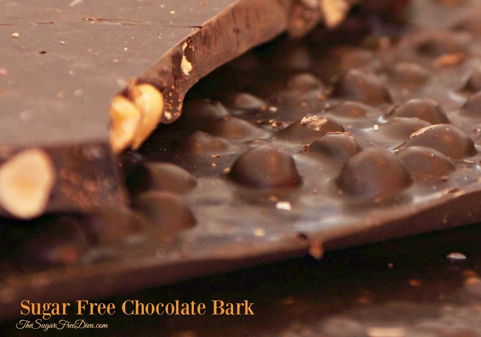 Sugar Free Chocolate Bark
