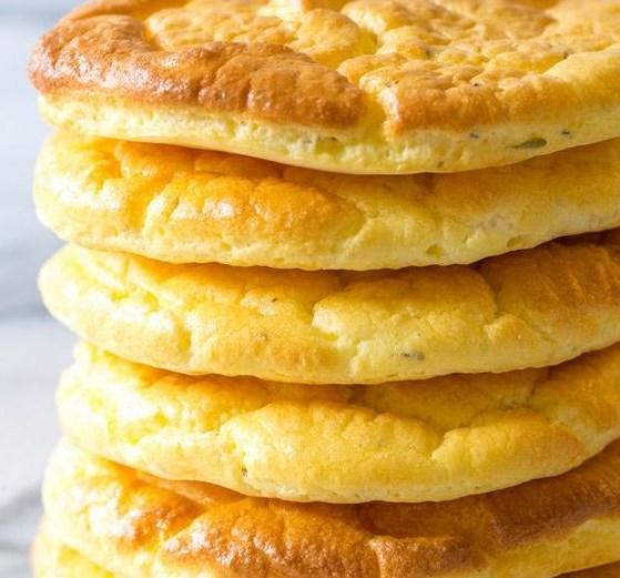 The Best Cloud Bread Recipe #Diet #LowCarb