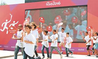 Tocha olímpica percorrerá 42 cidades fluminenses do estado do Rio