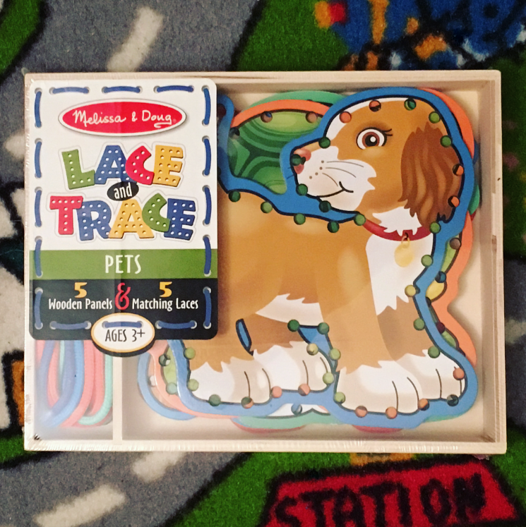 Melissa & Doug Lace and Trace Review