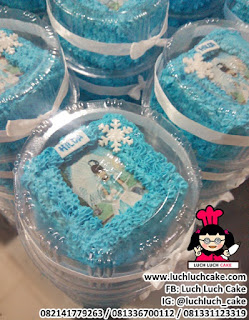 Mini Cake Frozen Elsa Anna