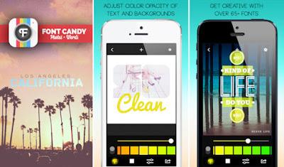 تطبيق-Font-Candy-للكتابة-على-الصور-على-الآيباد