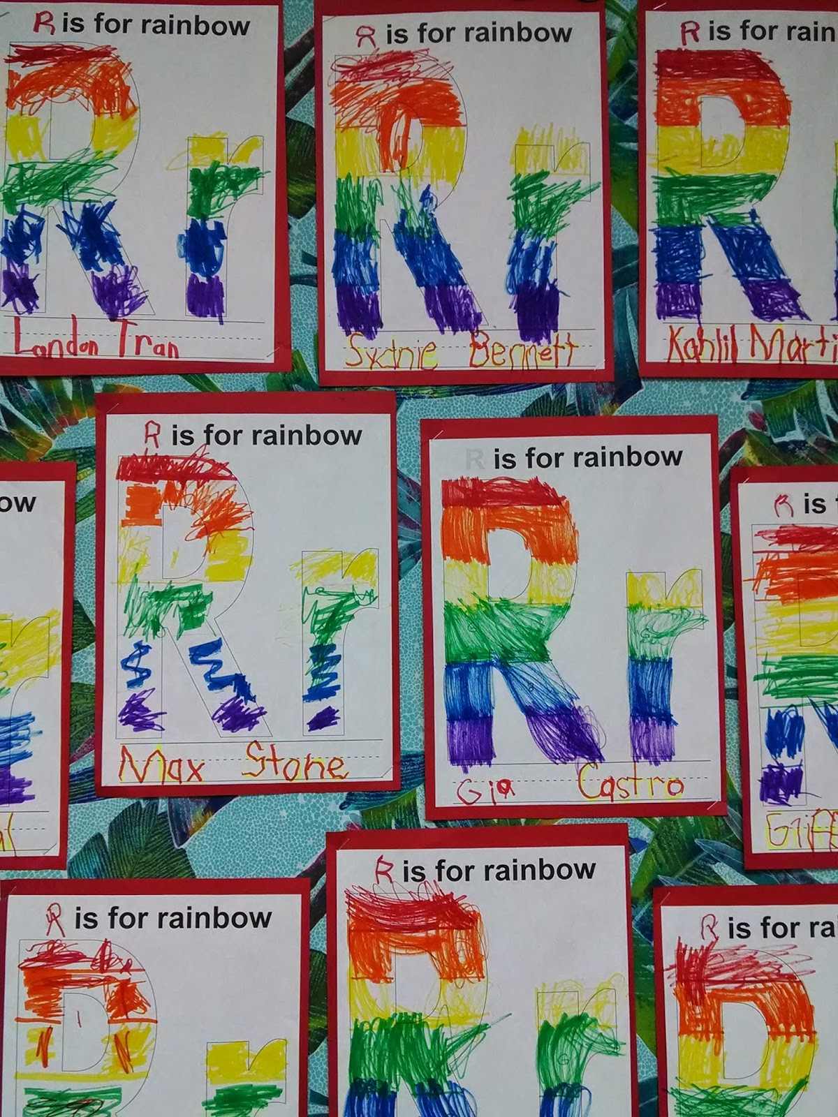 Preschool For Rookies Letter Of The Week Rr