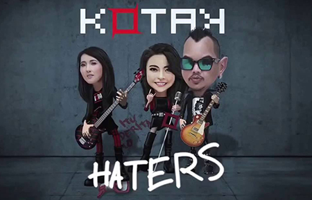 Lirik Lagu Kotak - Haters