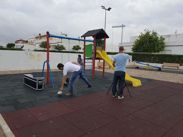 Câmara de Lagoa realiza testes de segurança nos parques infantis
