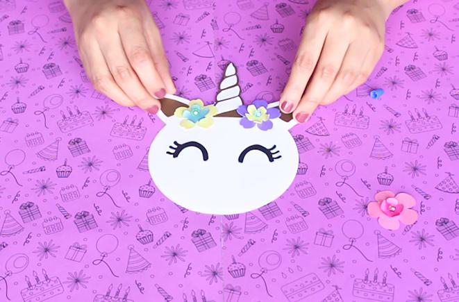 Unicornio Invitación Diy Moldes Party Pop