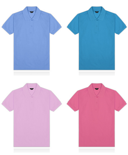 Short Sleeved Collar T-Shirt