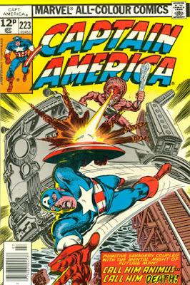 Captain America #223
