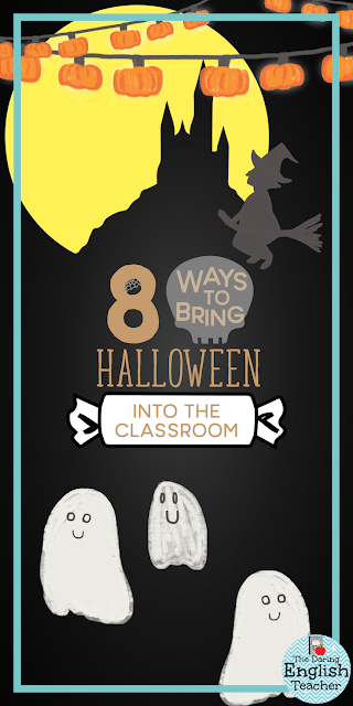 8 Ways to Bring Halloween Into The Secondary ELA Classroom