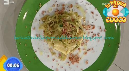 Maltagliati con carciofi e prosciutto ricetta Bottega da Prova del Cuoco