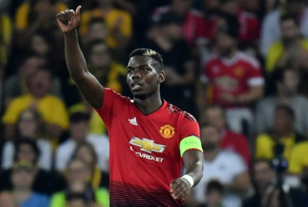 Paul Pogba dismissed in the game