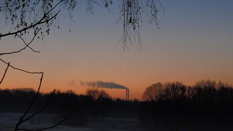 Утренняя встреча с Венерой на Лисьей Горе | Астрофото от Андрея Климковского