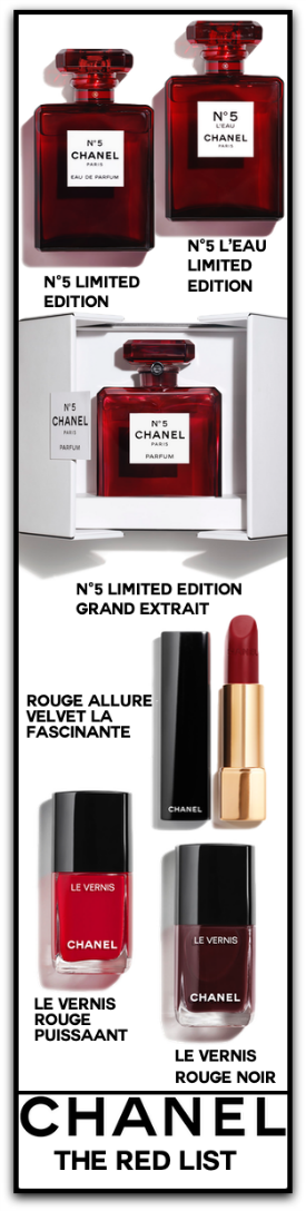 Chanel The Red List