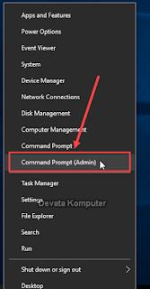 Cara Membuka Command Prompt Sebagai Administrator
