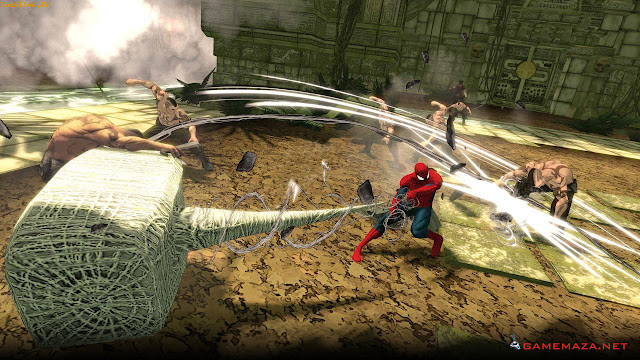 Spiderman Shattered Dimensions Gameplay Screenshot 2