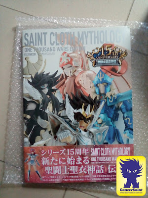 Recibida la Saint Cloth Mythology Thousand War Edition