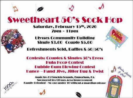2-15 Sweetheart 50's Sock Hop, Ulysses