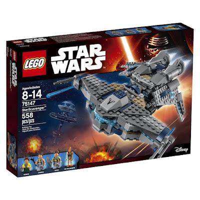 TOYS : JUGUETES - LEGO Star Wars 75147 Carroñero Estelar   StarScavenger Producto Oficial 2016   Piezas: 558   Edad: 8-14 años Comprar en Amazon España & buy Amazon USA