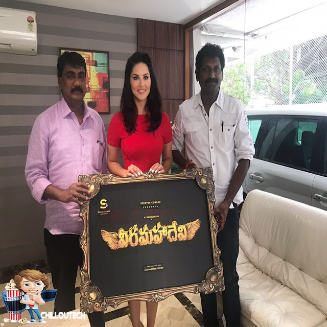 Veeramadevi  Kollywood movie Sunny Leone