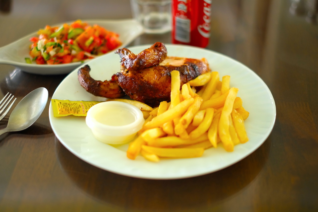 Liburan ke Jordan (Jerash dan Amman) - Lunch Roasted Chicken