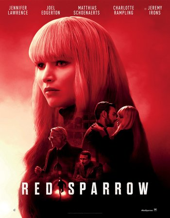 Red Sparrow (2018) English 720p HC HDRip