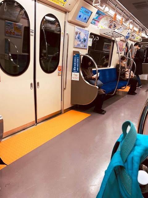 仙台車站搭乘地鐵西線