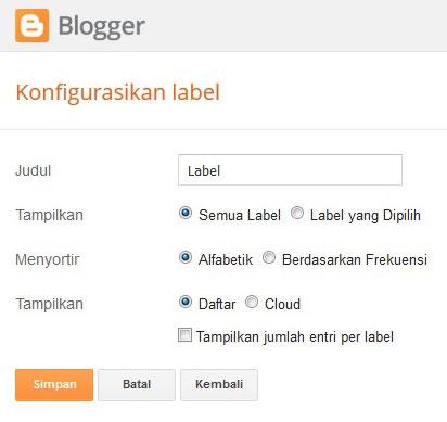 cara menghias blog