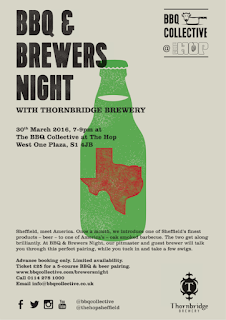 BBQ & Brewers Night with Thornbridge Brewery poster