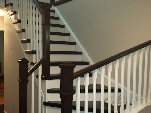Curved Staircase Installation