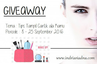 http://www.indriariadna.com/2016/09/giveaway-tips-cantik-ala-kamu.html?showComment=1474360376161#c2874772266732506039
