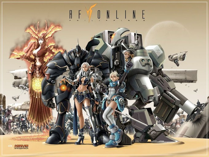 Mengenal Sejarah 3 Ras Bangsa Rising Force Online
