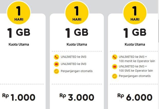 Syarat dan Ketentuan Paket Yellow Indosat