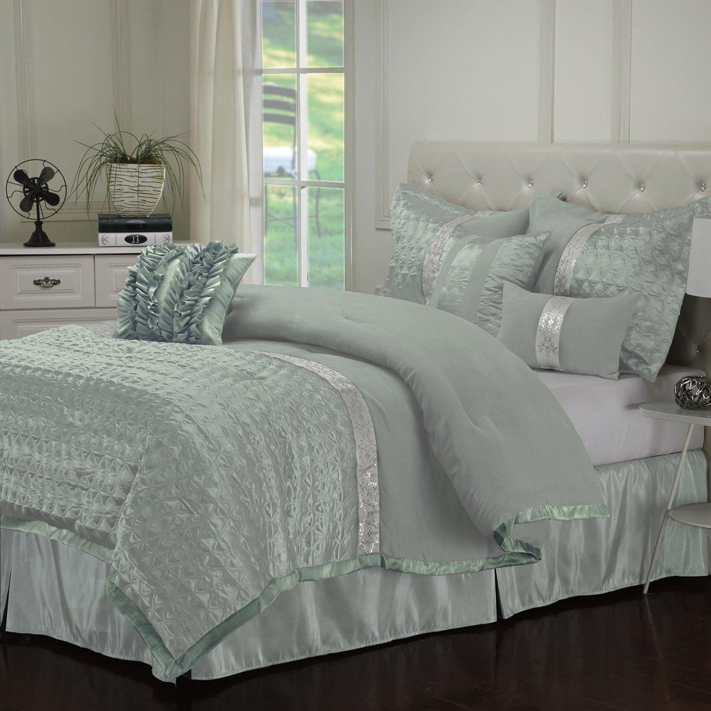 Seafoam Green Comforters, Duvets & Bedding Sets
