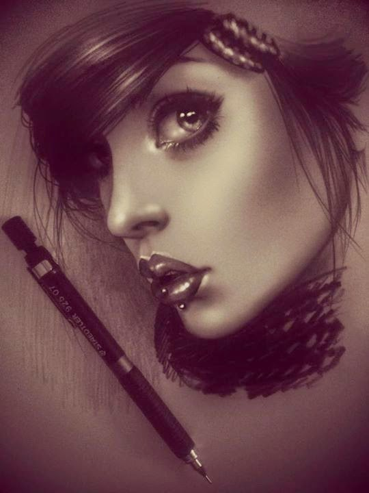 20-Rebecca-Blair-rbeccablair-Hyper-Realistic-Drawings-from-the-Heart-www-designstack-co
