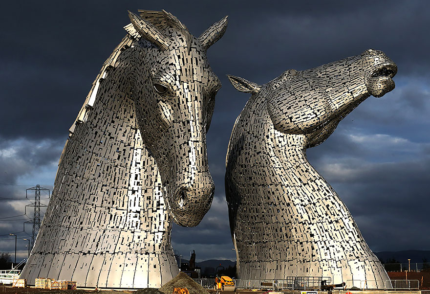 42 Of The Most Beautiful Sculptures In The World - Kelpies, Grangemouth, Uk