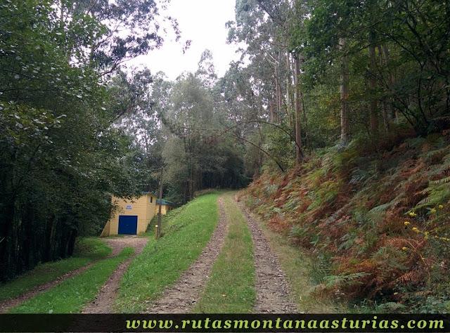 Ruta Das Minas PR AS-182: Depósito de agua