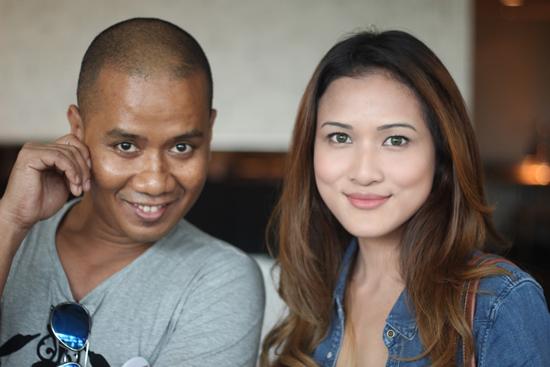 Gambar Faizal Ismail dengan Hanis Zalikha (Blogger Terkenal)