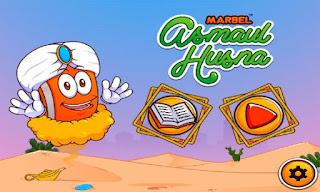 Game / Aplikasi Android Untuk Pendidikan Islami Anak Belajar Asmaul Husna
