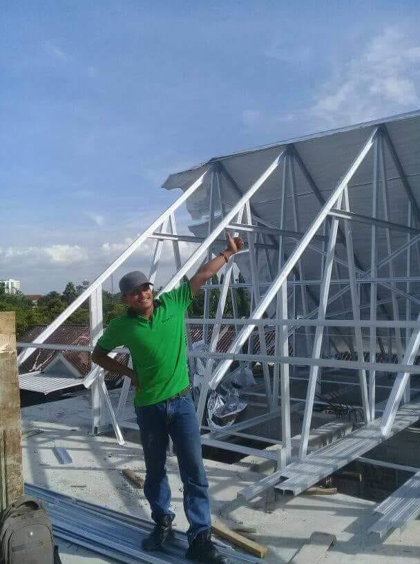 Tukang Rangka Atap Baja Ringan Bogor,Depok,Jakarta,tanggerang,Bekasi